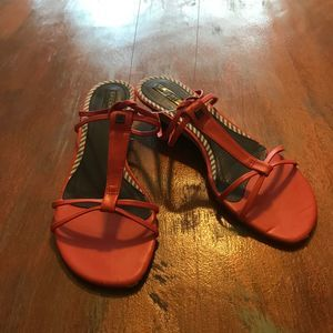 Sperry Non-Marking Strap Leather Sandals size 9